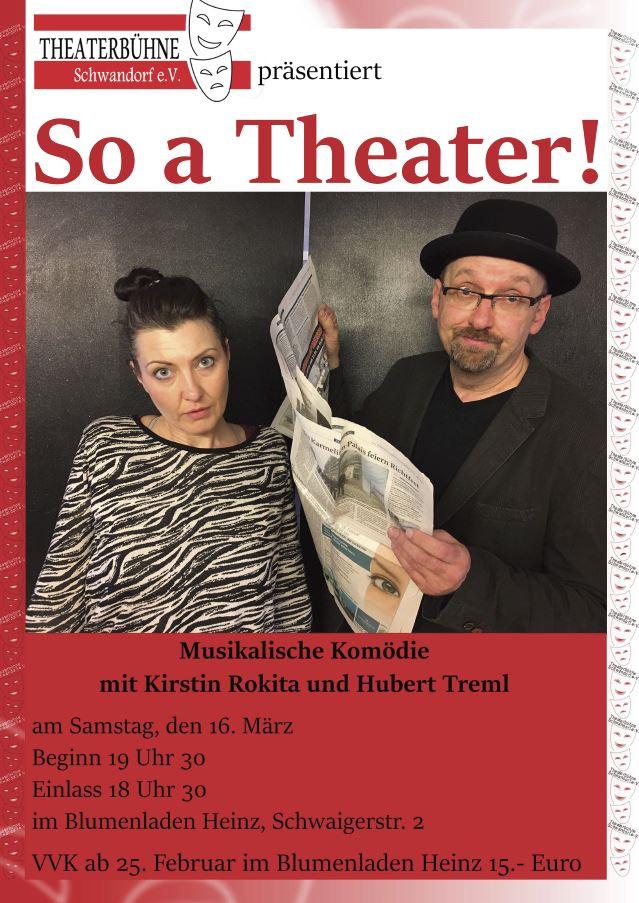 So a Theater bei Blumen Heinz