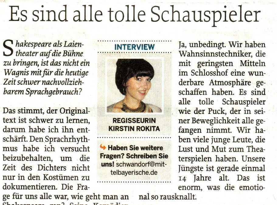 Interview der MZ